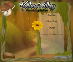 Hollow Valley - Forest Application by SalemTheCat23