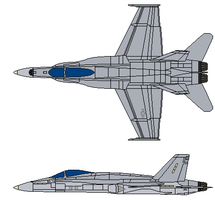 US FA-18C Hornet by gryphonarts