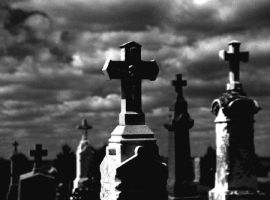 Grave yard by VoiceInMyHead