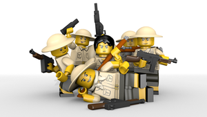 Lego British WW2 by Ask-Private-Miller
