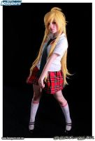 panty school uniform cosplay by sanchanclau
