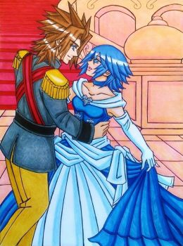 Terra x Aqua : Waltz of Love by dagga19