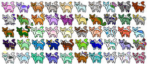 50 Cat Adopts 37/50 OPEN by DorkSoup