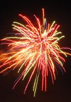 Multi-Colored Fireworks II by AcceptedOutcast