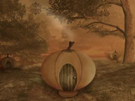 Pumpkin Patch by Neonescence