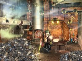 Sorting Room by ErikDShipley