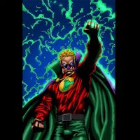 Alan Scott Green Lantern by MarcBourcier