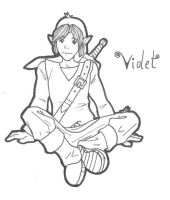 Violet--uncolored by jlewis413