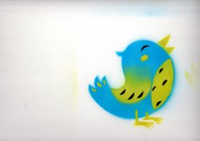 Stencil Tweeter by alexmathers