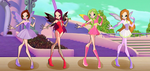 Winx: Alfea Adoptables CLOSED by DragonShinyFlame
