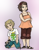 Satu and Logan by yammyqueen