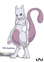 Mewtwo by Red-Flare