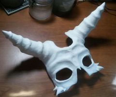 Bone Mask WIP by LiquidFaeStudios