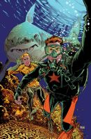Aquaman Selfie Cover #34 by urban-barbarian