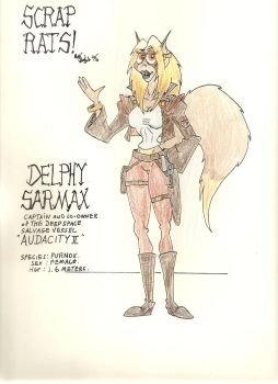 Scrap Rats, Delphy Sarmax by gothold