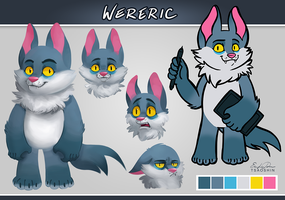 Wereric Ref Sheet by TsaoShin