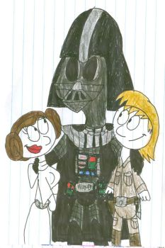 Force Father's Day by SithVampireMaster27