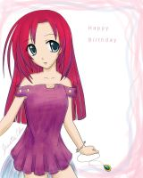 Birthday Card 6 - Lucia by Miru