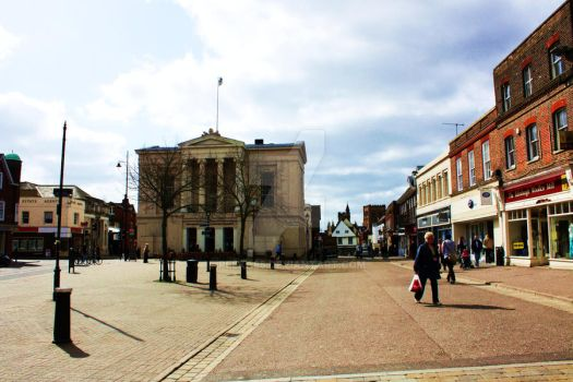 St Albans Town Centre by peeka85