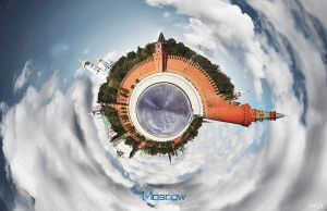 The planet. Moscow. by ESPECTR0