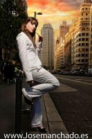 Ines - Gran via shoot2 by josemanchado