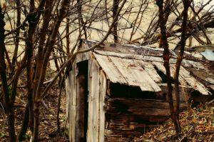 Old Storage Shed by Samtian