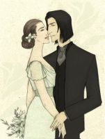 Severus and Evelyn Wedding by JosieCarioca