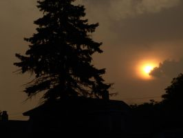 Sky Swallows the sun. by Pyro82