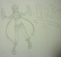 Jinx Sketch by Mistress-Siren