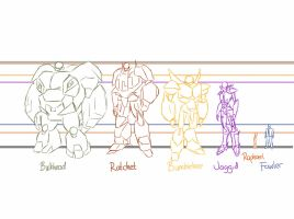 Comic - Height Chart by Jaggid-Edge