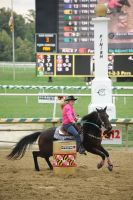 Barrel Racing Demonstration by LilSis279
