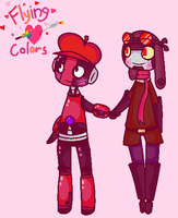 Cuteness Flying colors by Pixelthepony24680