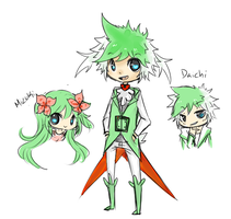 Daichi the Shaymin by MamoRandom