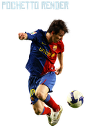 Render Messi by Pochetto