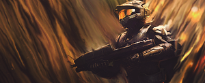 Halo smudge by inflames65