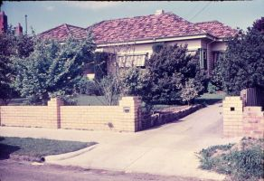 Australian street 1950s by otherunicorn-stock
