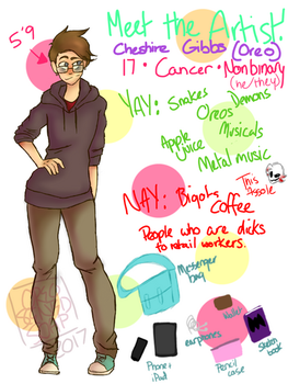 Meet the Artist! by ThoughtfulMelonlord