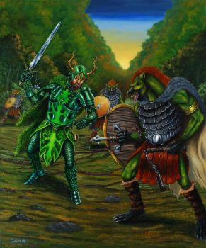 Green Knight by Neothera