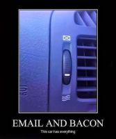 Mail and Bacon? by cosenza987