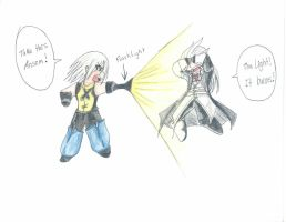 Riku vs Ansem by Blackarmoredsage