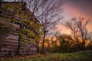Behind the Old Barn by FabulaPhoto