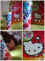 HelloKitty x Meal by FrogCess