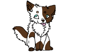 Another chibi puppy by SweetTerry