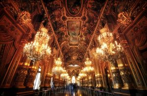 The Palais Garnier by tugrulnohutcu