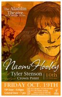 Naomi Hooley_10th CD Release Poster by Briansbigideas