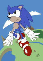 Sonic - You can do anything by Rapid-the-Hedgehog