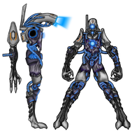 Mass Effect - Scavanger - Side View Added by Diyaru4500