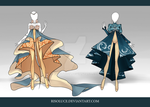 (CLOSED) Adoptable Outfit Auction 71-72 by Risoluce