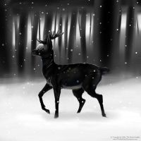 -G- First snow of the season by WoelfinNishi
