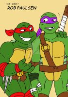 TMNT: The Great Rob Paulsen by xero87